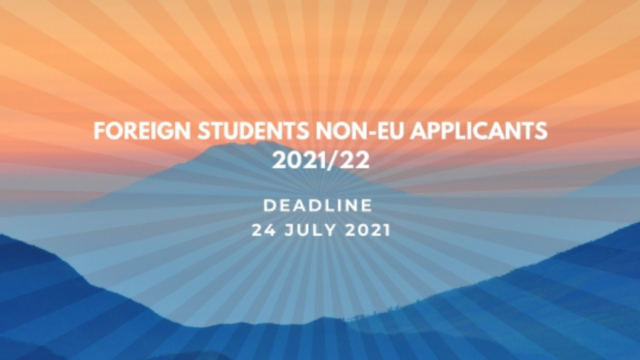 Foreign students Non-EU applicants